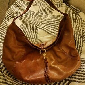 Ralph Lauren, leather hobo bag